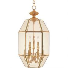 Maxim 60201CLPB - Bound Glass-Entry Foyer Pendant
