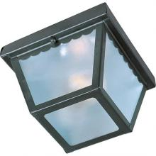Maxim 6203FTBK - Outdoor Essentials 1-Light Outdoor Ceiling Mount