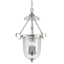 Crystorama 5762-PN - Crystorama 2 Light Polished Nickel Glass Pendant