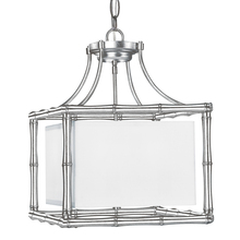 Crystorama 9014-SA - Libby Langdon for Crystorama Masefield 4 Light Antique Silver Mini Chandelier