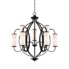 Designers Fountain 84489-ART - Bellemeade 9 Light Chandelier