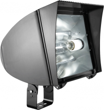 RAB Lighting FXLH400TPSQ/PC2 - FLEXFLOOD XL 400W MH PSQT HPF PULSE START TRUN + 277V PC BNZ