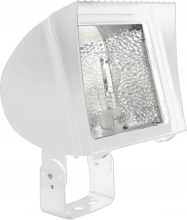 RAB Lighting FXLH200TPSQW/PC - FLEXFLOOD XL 200W MH PSQT HPF PULSE START TRUN + 120V PC WHT