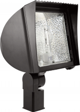 RAB Lighting FXH150SFQT - FLEXFLOOD 150W MH QT HPF SLIPFITTER + LAMP BRONZE