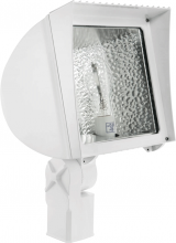 RAB Lighting FX150SFW - FLEXFLOOD 150W HPS 120V HPF SLIPFITTER + LAMP WHITE