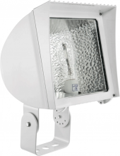 RAB Lighting FX70TQTW - FLEXFLOOD 70W HPS QT HPF TRUNNION + LAMP WHITE