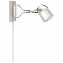 Visual Comfort CL 2170PN - Noho Double Torchiere Sconce in Polished Nickel