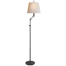 Visual Comfort S 1026BR-NP - Georgetown Bridge Floor Lamp in Black Rust with