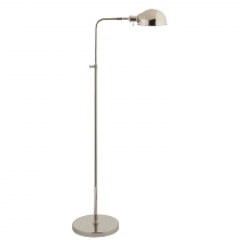Visual Comfort S 1100PN - Old Pharmacy Floor Lamp in Polished Nickel