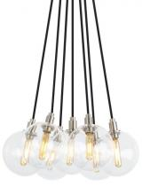 Tech Lighting 700GMBMP7CR-LED927 - Gambit 7-Lite Chandelier