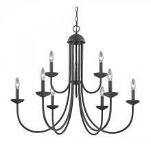 Elk Cornerstone 1529CH/10 - Williamsport 9 Light Chandelier In Oil Rubbed Br