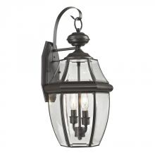 Elk Cornerstone 8602EW/75 - Ashford 2 Light Exterior Coach Lantern In Oil Ru