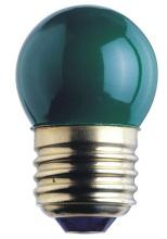 Westinghouse 0406100 - 7.5W S11 Incandescent Green E26 (Medium) Base, 130 Volt, Card