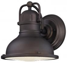 Westinghouse 6203400 - 1 Light LED Wall Lantern Oil Rubbed Bronze Finish with Clear Prismatic Lens