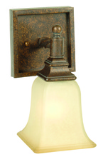 Jeremiah 15405PR1 - Ryan 1 Light Wall Sconce in Peruvian Bronze