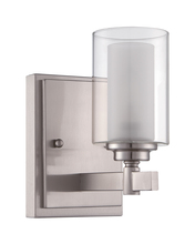 Jeremiah 16705BNK1 - Celeste 1 Light Wall Sconce in Brushed Polished Nickel
