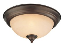 Jeremiah 20013-OB - 2 Light Flushmount in Oiled Bronze
