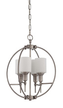 Jeremiah 37234-AN - Meridian 4 Light Entry in Antique Nickel