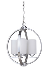 Jeremiah 39744-CH - Albany 4 Light Foyer in Chrome