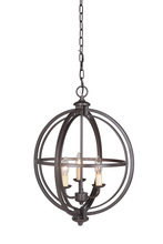 Jeremiah 40133-ESP - Berkeley 3 Light Foyer in Espresso
