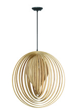 Jeremiah 41293-ESP - Cirq 1 Light Pendant in Espresso