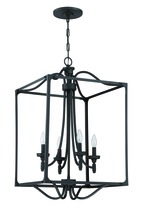 Jeremiah 41435-ABZ - Sophia 4 Light Foyer in Aged Bronze Brushed