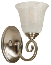 Jeremiah 7105BN1 - Cecilia 1 Light Wall Sconce in Brushed Satin Nickel