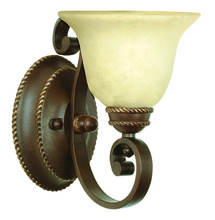 Jeremiah 8107AG1 - Riata 1 Light Wall Sconce in Aged Bronze Textured