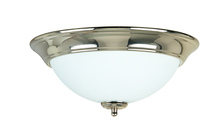 Jeremiah X1213-PLN - 2 Light Flushmount in Polished Nickel