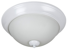 "Jeremiah XP15W-3W - Pro Builder 3 Light 15"" Flushmount in White"