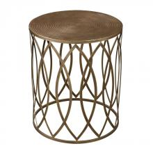 Sterling Industries 138-009 - Sutton-Accent Table In Gold Leaf