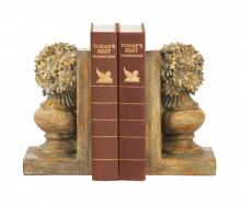Sterling Industries 87-4380 - Sterling Pair Of Floral Urn Bookends