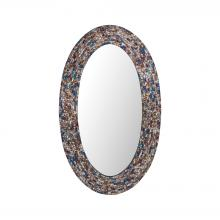 Sterling Industries 8983-047 - Byzantion Round Mosaic Mirror