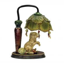 Sterling Industries 91-297 - Rabbit Under Leaf 1 Light Mini Table Lamp