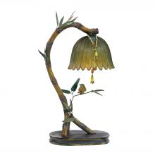 Sterling Industries 91-932 - Perching Finch 1 Light Table Lamp In Burwell Bronze