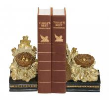 Sterling Industries 93-4249 - Pair Oak And Acorn Bookends