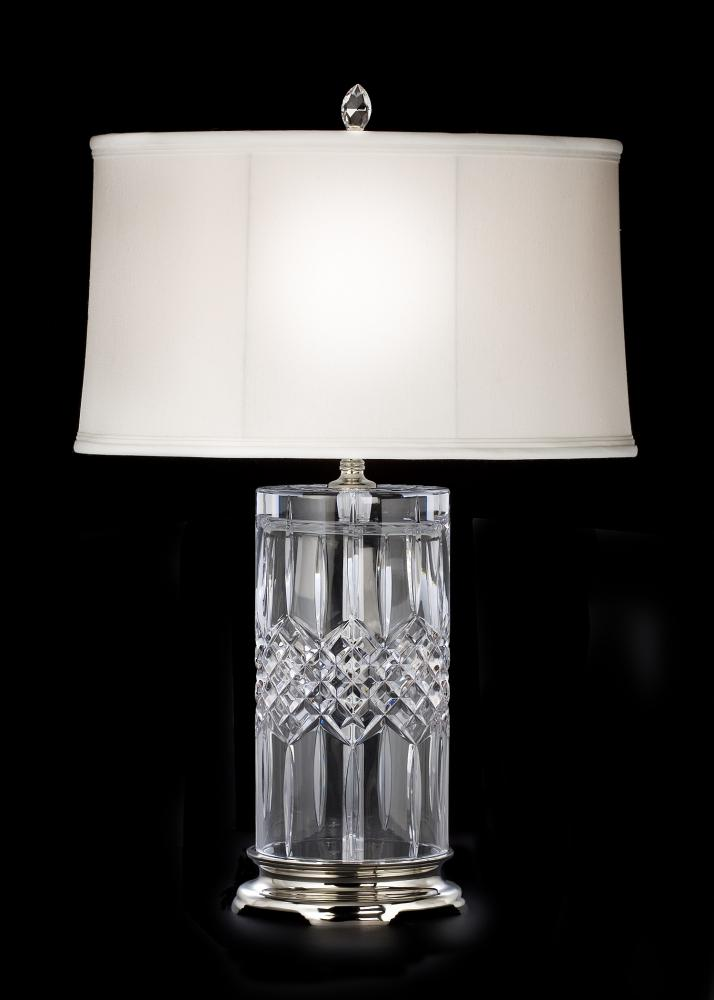 lighting floor crystal waterford bell fixtures lamps chandeliers lamp chandelier arm six mi blue table
