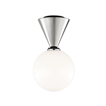 Hudson Valley H148501S-PN/BK - 1 Light Small Flush Mount