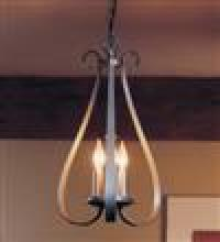 Hubbardton Forge 101473-SKT-10 - Sweeping Taper 3 Arm Chandelier