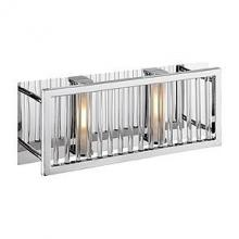 Access 23972-CH/CCL - Two Light Chrome Clear Crystal Glass Vanity