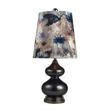 Dimond 111-1099 - One Light Grey Glass And Black Nickel Table Lamp