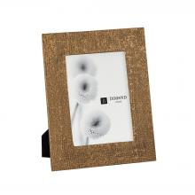 Dimond 8988-020 - Ripple Texture 5x7 Photo Frame In Rose Gold