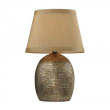 Dimond D2222 - Gilead Table Lamp With Alligator Texture Base In Meknes Bronze