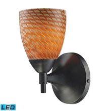 ELK Lighting 10150/1DR-C-LED - Celina 1 Light LED Sconce In Dark Rust And Cocoa