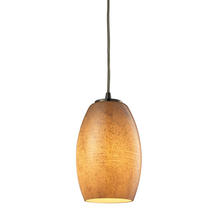 ELK Lighting 10330/1TB - Andover 1 Light Pendant In Satin Nickel And Text