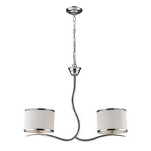 ELK Lighting 11353/2 - Two Light Polished Chrome Island Light