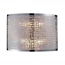 ELK Lighting 31040/2 - Medina 2 Light Wall Sconce In Polished Stainless