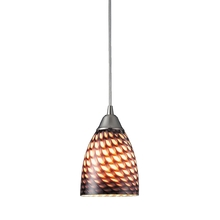 ELK Lighting 416-1C-LED - Arco Baleno 1 Light LED Pendant In Satin Nickel